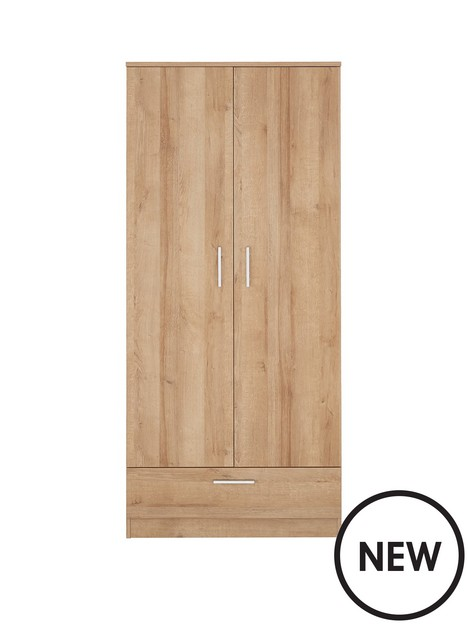 panama-2-door-1-drawer-wardrobe