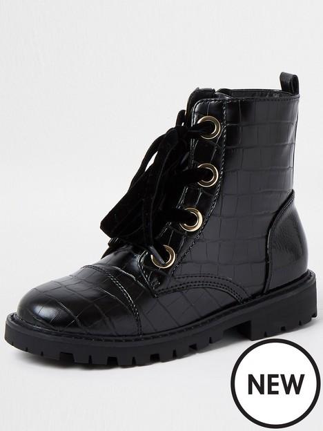 river-island-girls-croc-biker-boot-black