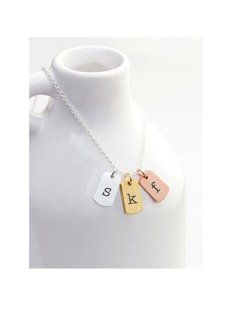 treat-republic-treat-republic-personalised-mixed-metal-mini-tags-necklace-serif