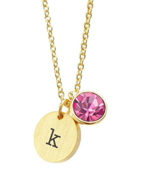 treat-republic-treat-republic-personalised-birthstone-crystal-and-disc-gold