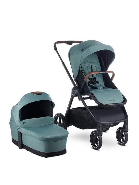 easywalker-easywalker-rudey-pushchair-carrycot-forest-green