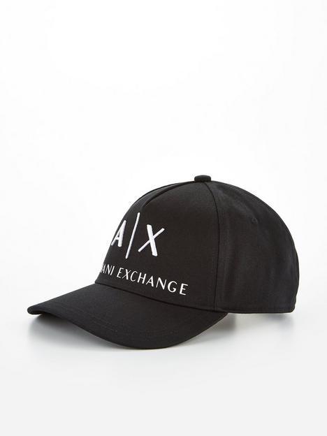 armani-exchange-logo-baseball-cap-blacknbsp