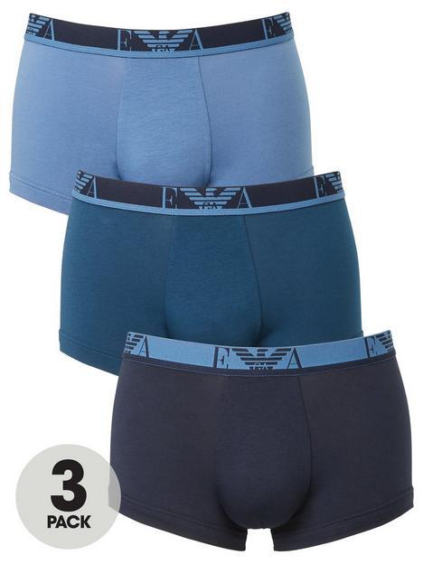 emporio-armani-bodywear-3-pack-eva-stretch-cotton-trunks-blue