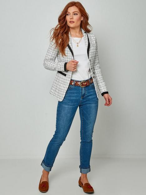 joe-browns-monochrome-jacket--nbspwhiteblack
