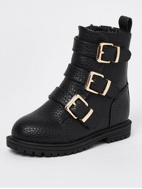 river-island-mini-mini-girls-buckle-boot-black