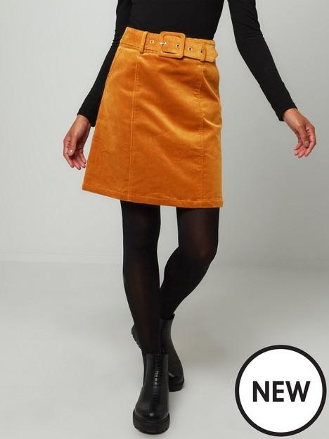 joe-browns-ultimate-belted-cord-skirtnbsp-tan