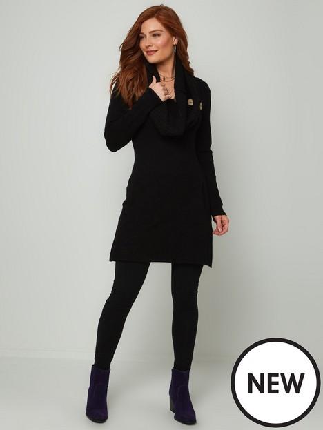 joe-browns-ways-to-wear-knitted-tunic-black