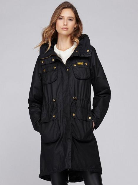 barbour-international-barbour-international-monza-faux-fur-lined-hood-wax-coat-black
