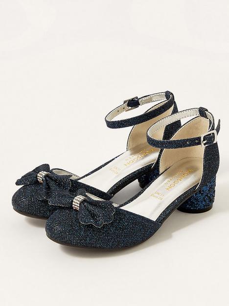 monsoon-girls-glitter-heel-shoes-navy