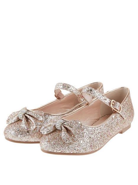 monsoon-girls-glitter-scallop-bow-ballerina-shoes-rose-gold