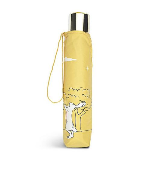 radley-woodland-wanderers-umbrella-yellow