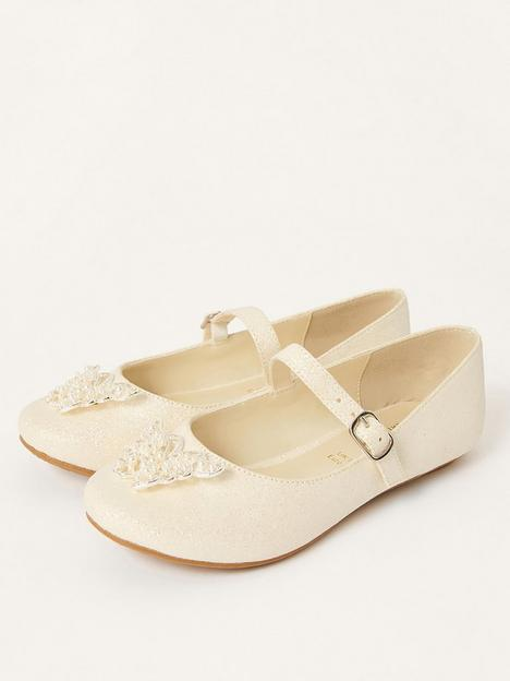 monsoon-girls-shimmer-pearl-butterfly-ballerina-shoes-ivory