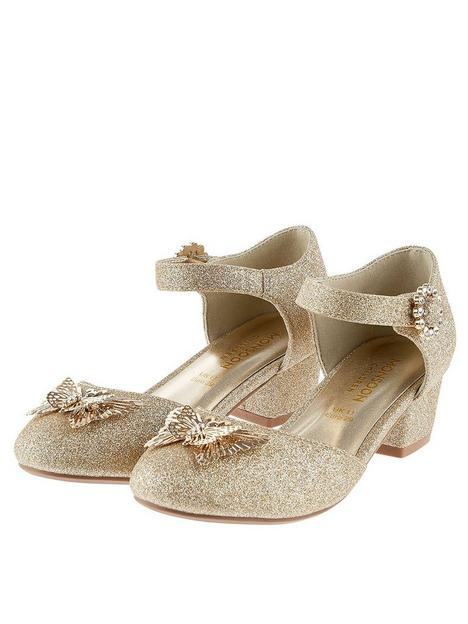 monsoon-girls-butterfly-glitter-two-part-heel-shoes-gold