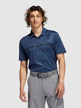 adidas-golf-chest-print-polo-navy