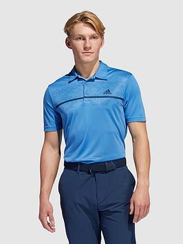 adidas-golf-chest-print-polo-shirt-blue