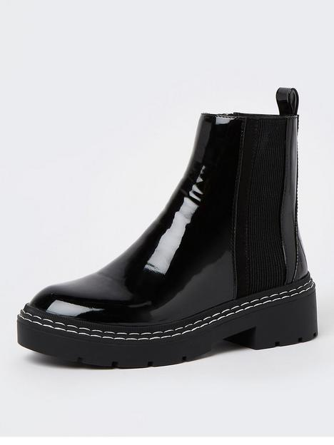 river-island-chunky-panelled-boot-black