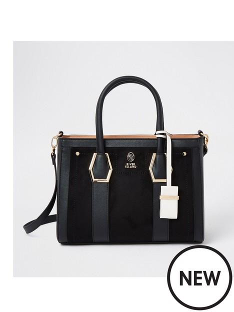 river-island-gold-hardware-tote-bag-black
