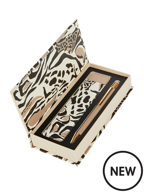 ted-baker-penchi-giraffe-printed-touch-pen-and-pouch