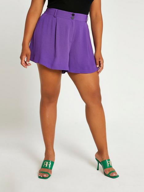 ri-plus-structured-short-purple