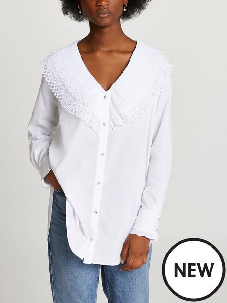 river-island-hybrid-frill-neck-shirt-white