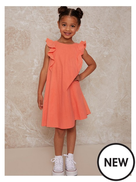 chi-chi-london-girls-embroidered-bodice-dress-coral