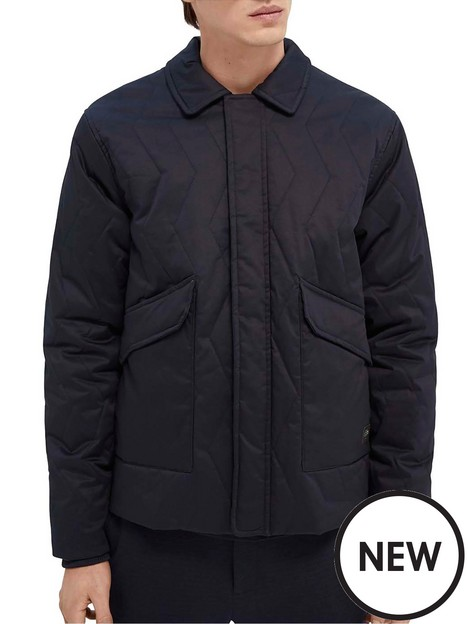 scotch-soda-classicnbspquilted-jacket-navy