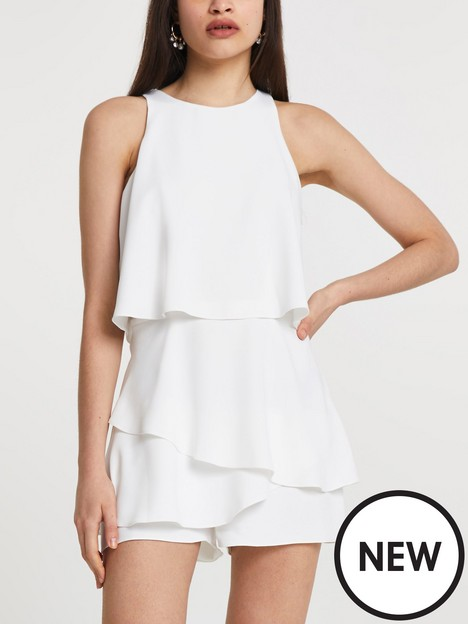 river-island-frill-layer-playsuit-white