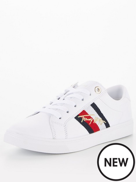 tommy-hilfiger-signature-cupsole-leather-sneaker-white