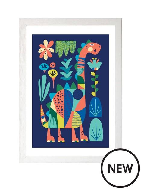 east-end-prints-dino-by-rachel-lee-a3-framed-print