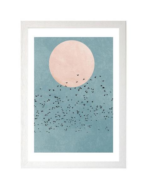 east-end-prints-fly-away-by-kubistika-a3-framed-print