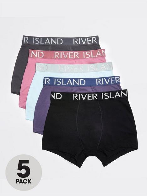 river-island-5-pack-boxers-purple