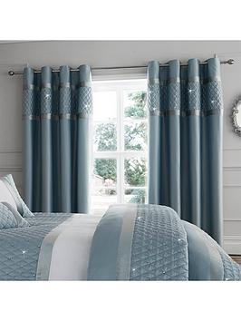 catherine-lansfield-catherine-lansfield-sequin-cluster-eyelet-curtains-66x72