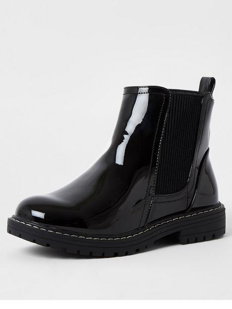 river-island-girls-patent-chelsea-boot-black