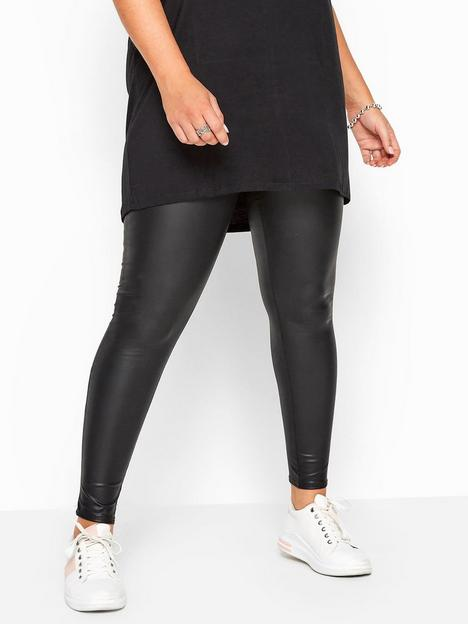 yours-yours-coated-look-legging--nbspblack