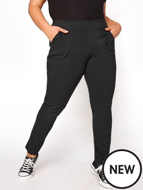 yours-yours-bengaline-stretch-trouser--nbspblack