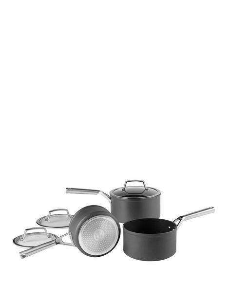 ninja-foodi-zero-stick-3-piece-pan-set-16cm-18cm-and-20cm-saucepans-6-piece-c33000uk