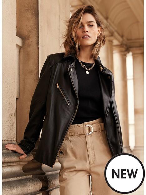 mint-velvet-mint-velvet-black-oversized-leather-jacket