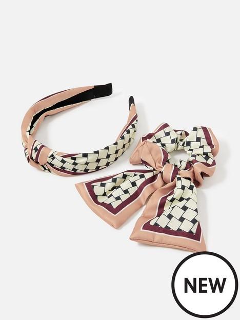accessorize-accessorize-geo-scarf-scrunchie-aliceband-multipack