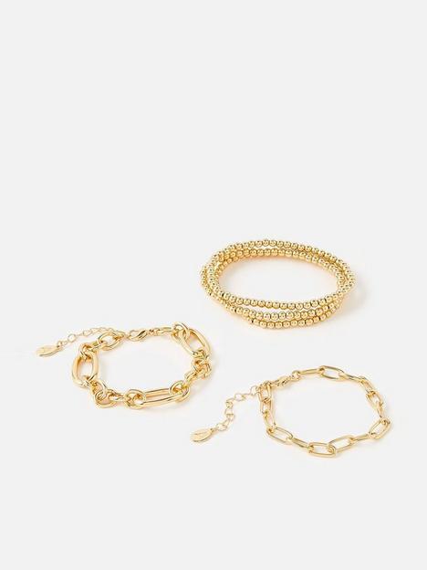 accessorize-accessorize-reconnected-5-x-chains-stretch-bracelet