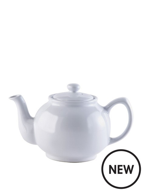 price-kensington-white-6-cup-teapot
