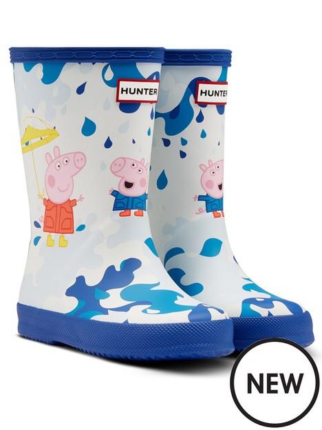 hunter-kids-first-classic-peppa-pig-wellington-boots-blue