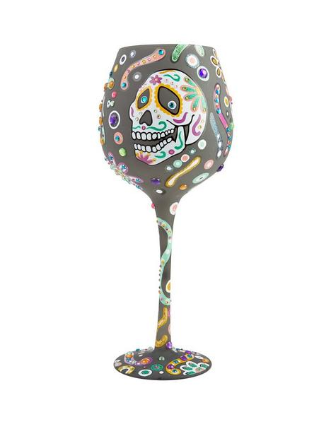 lolita-sugar-skulls-wine-glass
