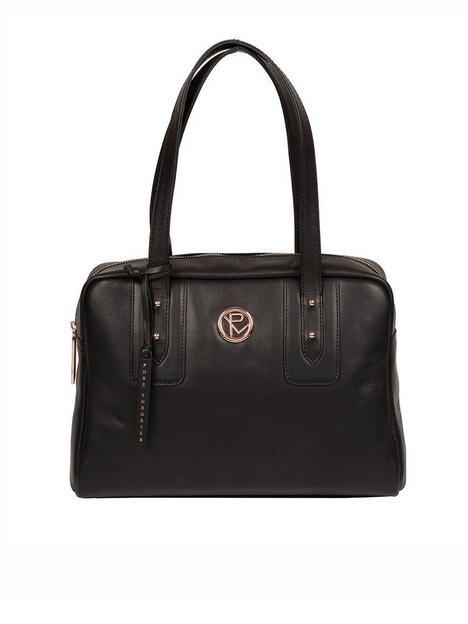 pure-luxuries-london-madox-zip-top-leather-handbag-black