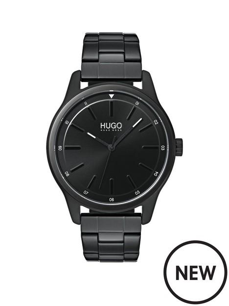 hugo-hugo-dare-black-dial-black-bracelet-watch