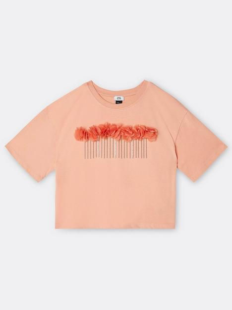 river-island-girls-3d-flower-cropped-tshirt-coral