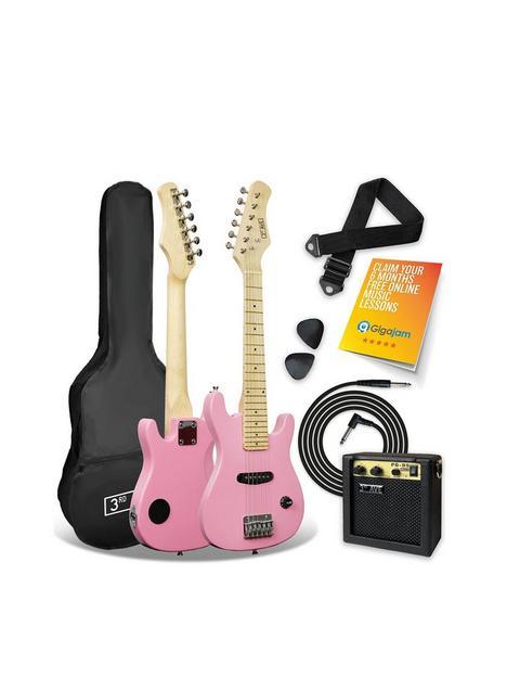 3rd-avenue-3rd-avenue-junior-electric-guitar-pack-pink