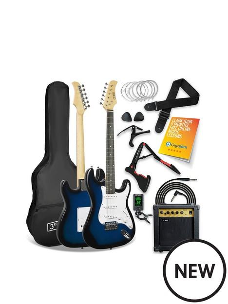 3rd-avenue-3rd-avenue-electric-guitar-pack-blueburst
