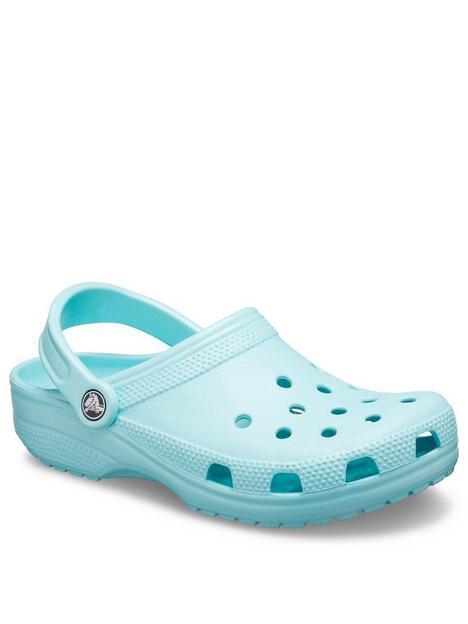 crocs-classic-clog-slip-on-flat-shoes-blue