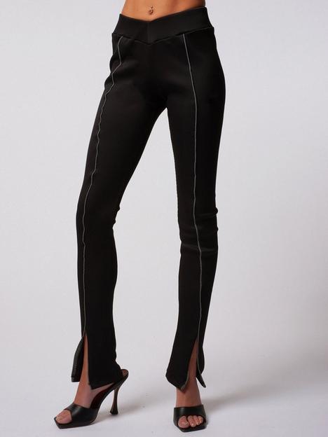 criminal-damage-rib-split-legging--black