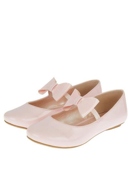 monsoon-girls-patent-bow-ballerina-shoes-pink